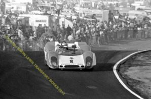PORSCHE 908/2 CAN AM  Tony Dean  Riverside Raceway 1969